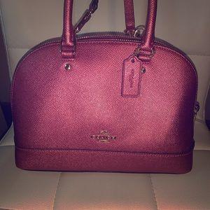 Pink sparkly Coach handbag